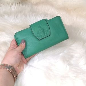 Boho Vibes Genuine Leather Wallet by Rolfs